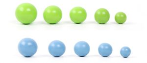 Fine motor skills beads numbers 14