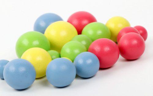Fine motor skills beads numbers 6